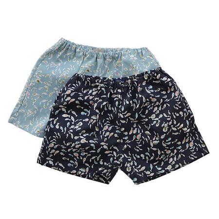 Kids Makie Hugo Shorts - Fish Print