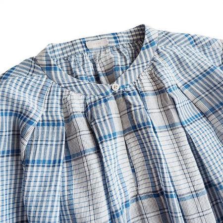 Makie Salika Dress - Blue Checks