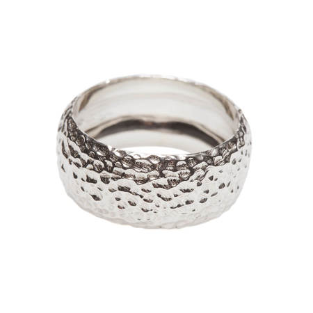 Vrients DI-TO Hammered band ring