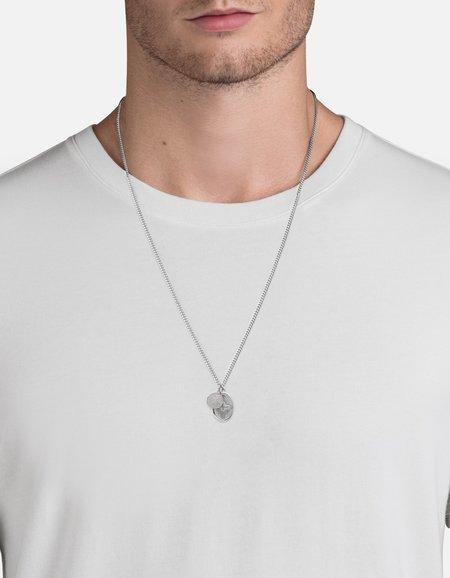 Miansai MINI DOVE PENDANT necklace - silver