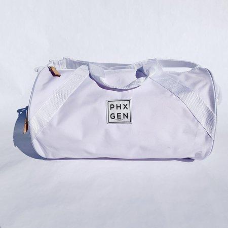 Unisex Phoenix General Duffle Bag - White