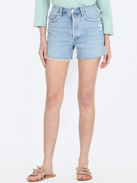 Agolde Dee Super High Rise Shorts - Chimes