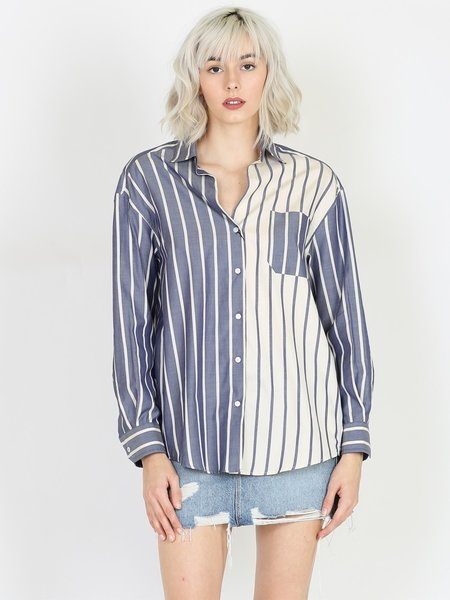 MAX MARA Weekend Oxford Cotton Shirt - Ultramarine
