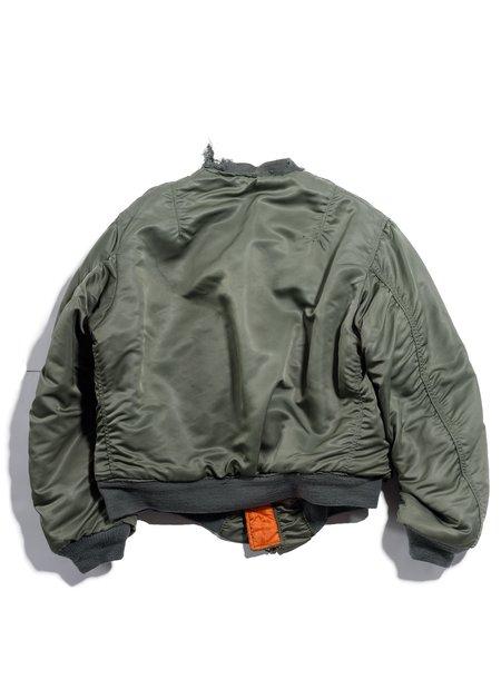 Vintage MA-1 Flight Jacket - Sage Green