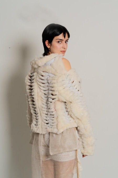 Sydney Pimbley Shearling Sew Jacket