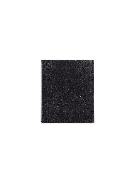 Rick Owens Frog Leather Cardholder - Black