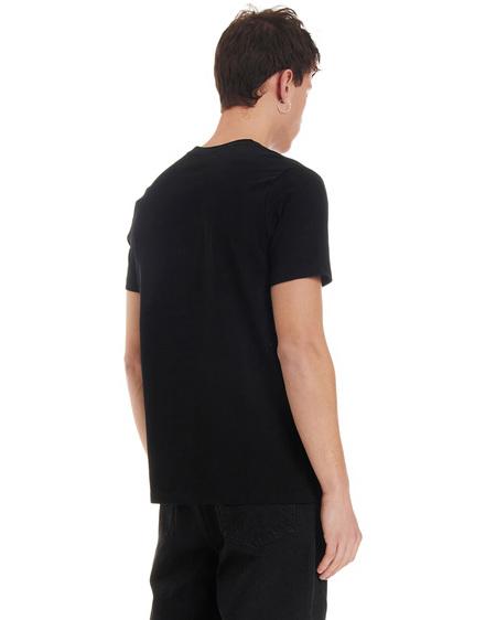 A.P.C. T-shirt with Print - Black