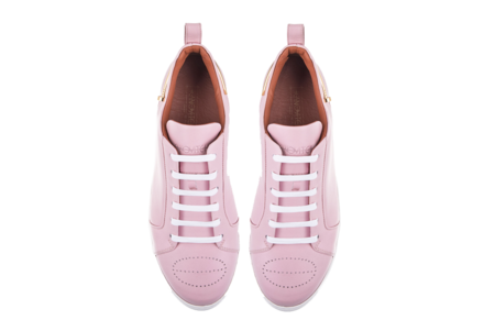 Kanovitch Low Top - Pink Pastel/24K Gold Plated