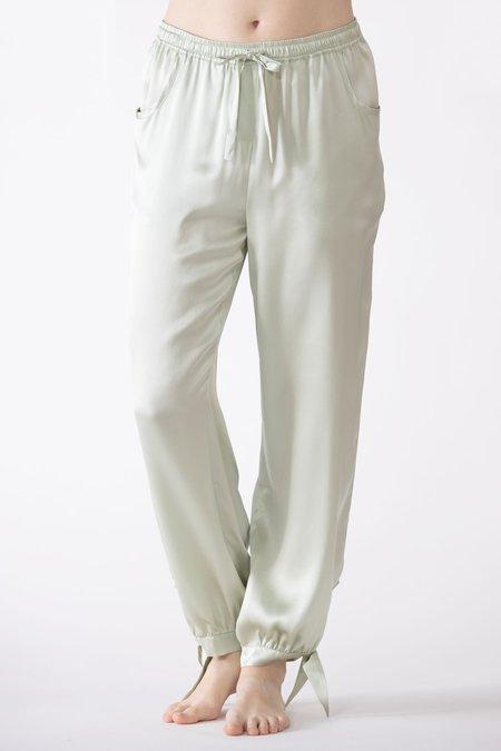 NK IMODE Sierra Ankle Tie Silk Joggers