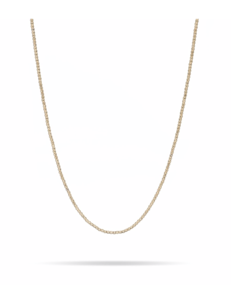 """Adina Reyter 16"""" Bead Chain Necklace - Yellow Gold"""