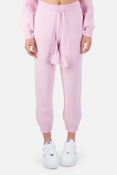 LoveShackFancy Tristan Pants - Pink