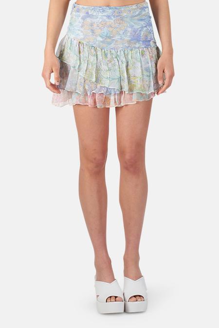 LoveShackFancy Como Skirt
