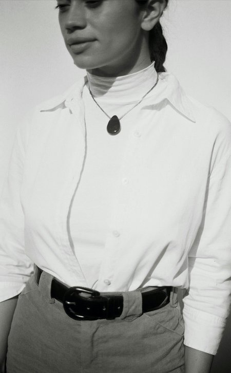 Tiana Marie Combes Classic Transparency Garnet Pendant