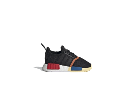 kids adidas NMD_R1 Core Toddler FW1077 shoes - Black
