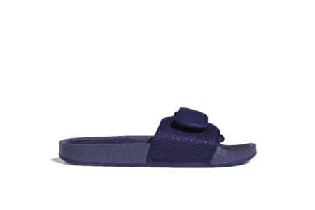 adidas x Pharrell Williams Boost FY6142 Slides - Night Sky