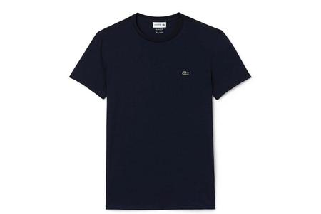 Lacoste Crew Neck TH6709-51 T-Shirt - Navy