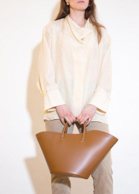 ÁERON Doris Silk Shirt - Cream