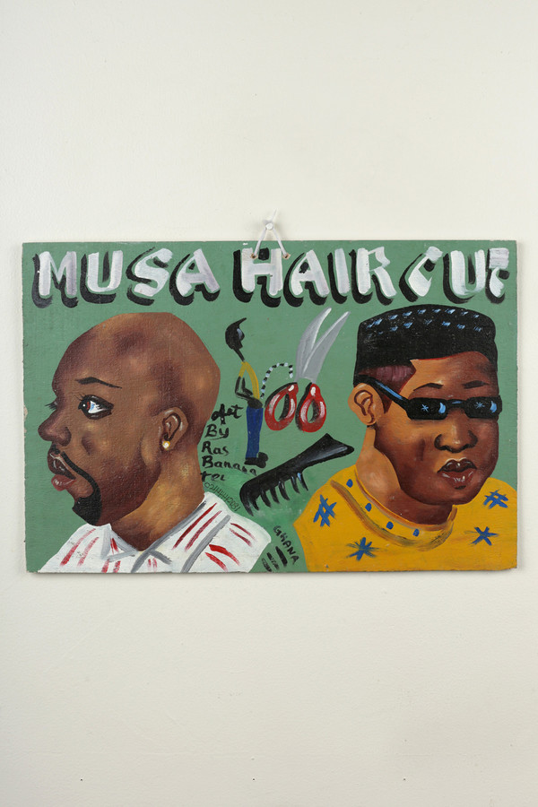 Osei-Duro Barbering sign #2