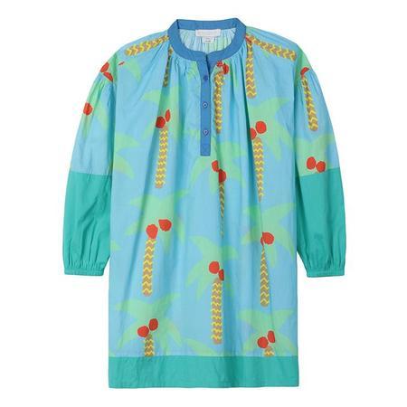 Kids Stella McCartney Dress With Palm Tree Print - Blue