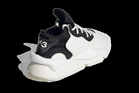 adidas x Y-3 Kaiwa Leather Sneakers - Black/White