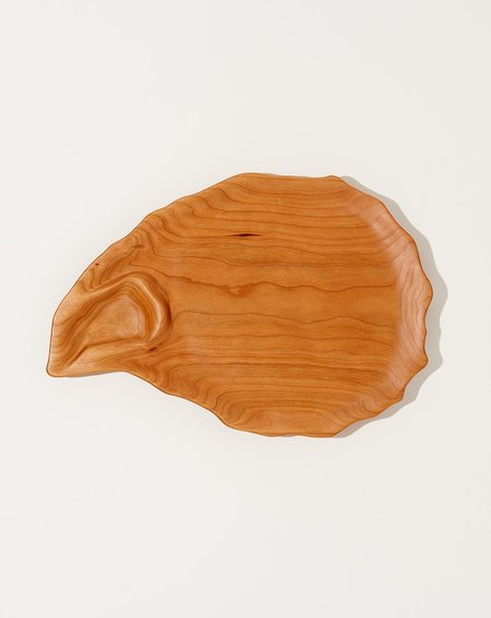 Oyster River Joinery 1 Well Cherry Oyster Platter