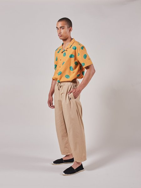 Unisex Bobo Choses Victory Embroidery Pant - Khaki