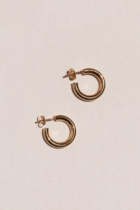 Flash Jewellery Goldie Tube Hoops