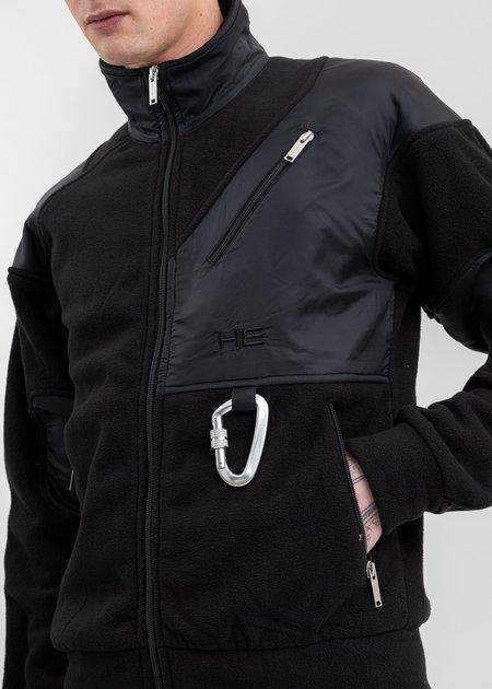 Heliot Emil Polar Fleece Jacket - Black