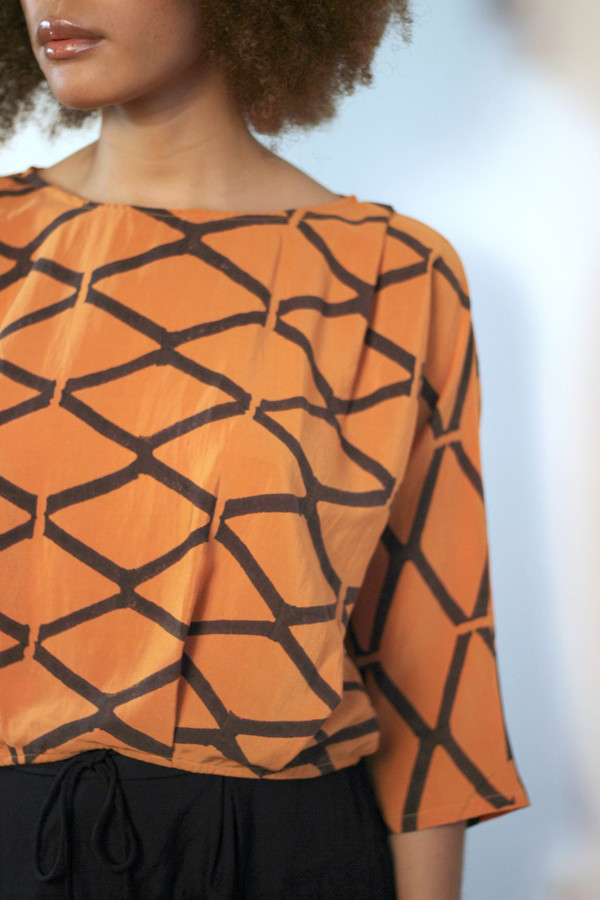 Seek Collective AW16 Pre-Order: Martyna Top, printed