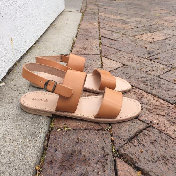Samuji Leather Sandals