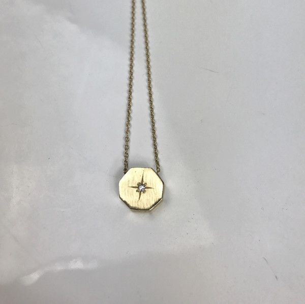 Mercurial NYC Octagon Necklace
