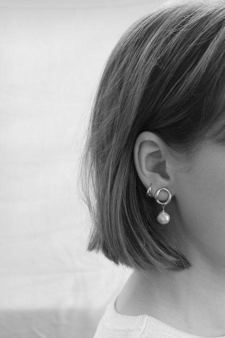 BRIE LEON Mini Fresh O Stud Earrings
