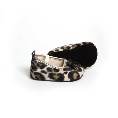 Little Lulu's Leopard Print Grace Slipper Shoes