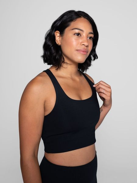 Girlfriend Collective Paloma bra - Black