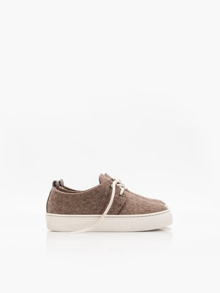 Kids ZUZII FOOTWEAR Wooly Sneakers - Brown