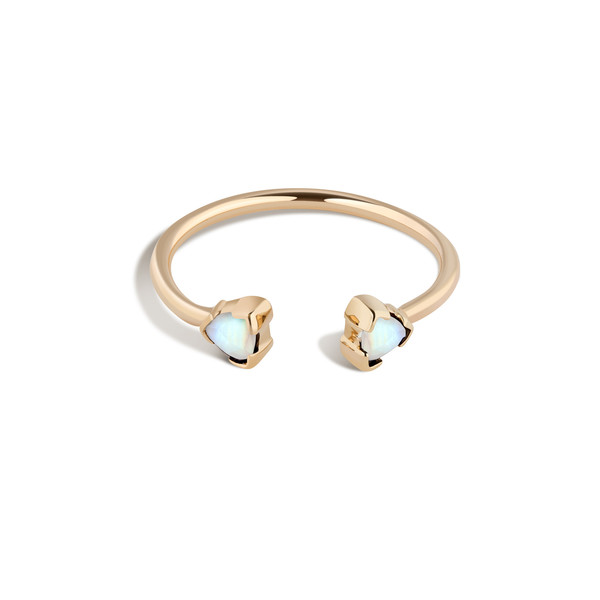 Shahla Karimi 14K Gold Birthstone Ring No. 2