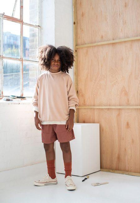 kids unisex Main Story Oversized Sweatshirt - plaster