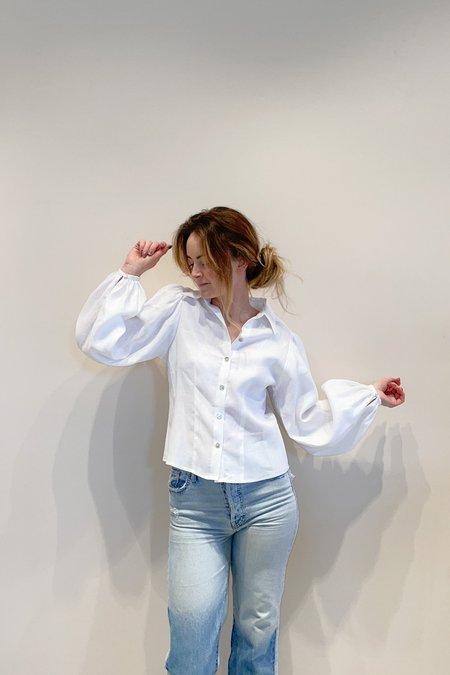 RG KANE Pioneer Blouse - white