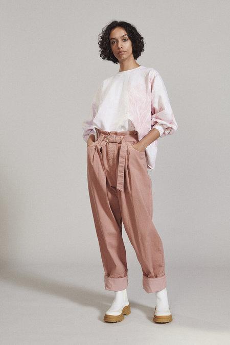 Rachel Comey Fond Sweatshirt - Marble Dyed Lilac