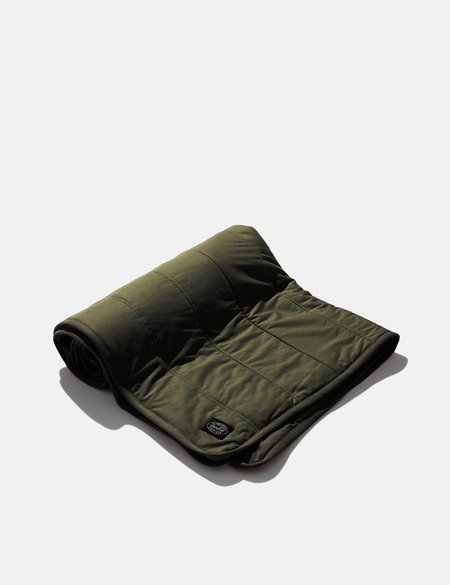 Snow Peak Flexible Insulated Blanket - Mossgreen