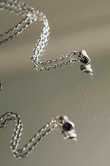 Allison Bartline Caballus Necklace - Lariat/Sterling Silver