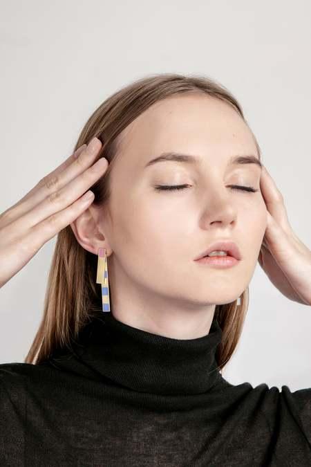 MATTER MATTERS Etto Earrings - Pastel
