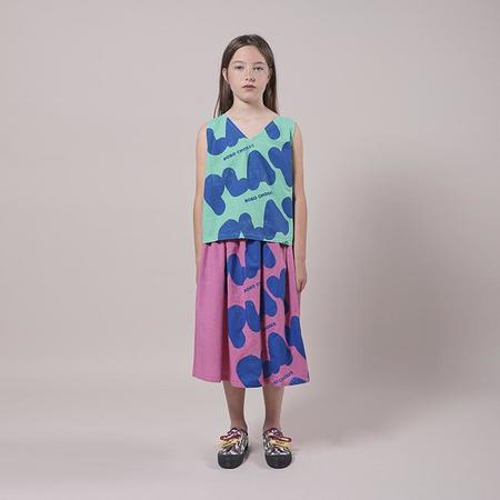 Kids Bobo Choses Tank Top With All Over Play Print - Green