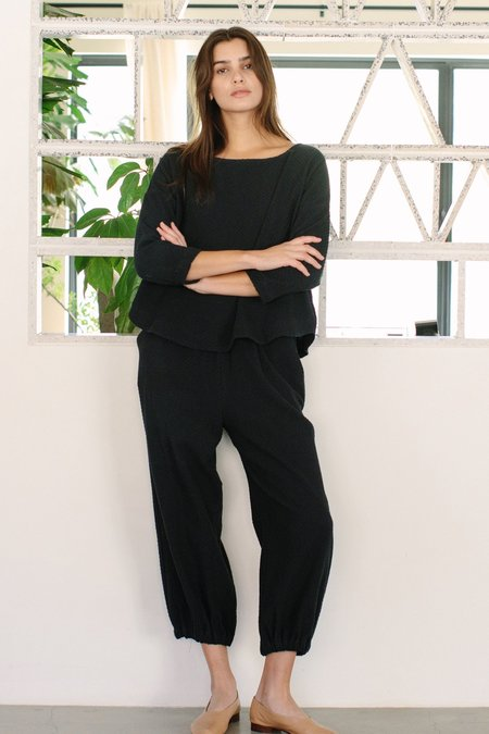 Rachel Pall Lattice Ava Top - Coal