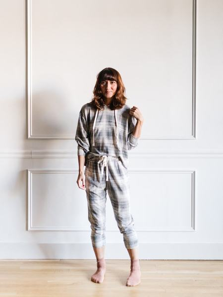 Dress Forum Checkered Lounge Set