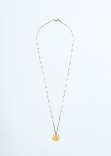 We11done Smile Necklace - Gold