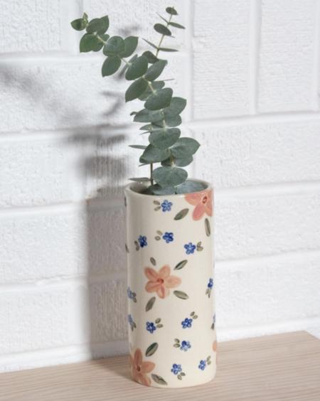 Erika Christine Ceramics Cosmos Cylinder Vase