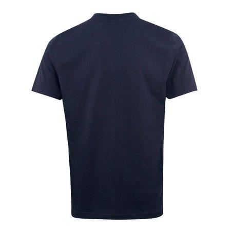 Ma Strum Distort Logo T-Shirt - Navy