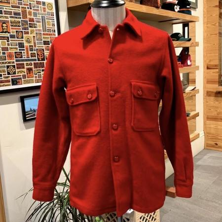 Vintage BSA Red Wool Jacket + Overshirt - Red