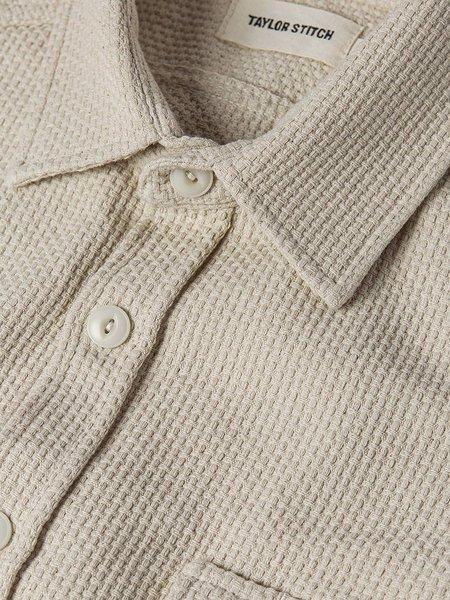 Taylor Stitch The Cash Shirt - Natural Sashiko